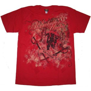 MANCHESTER UNITED / マンチェスターユナイテッド - DERIVATIVE/RED Tシャツ|kaltz