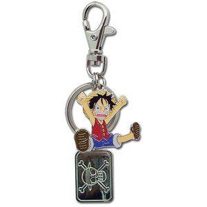 ONE PIECE / ワンピース - LUFFY METAL KEYCHAIN キーホルダー|kaltz
