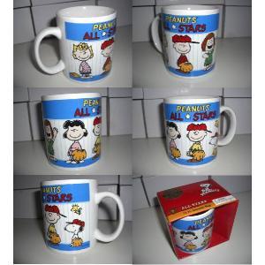 Peanuts / スヌーピー - All Stars 12oz Ceramic Mug マグカップ|kaltz|02