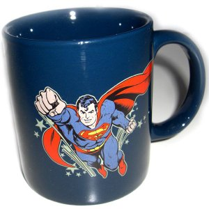 SUPERMAN / スーパーマン - Superman 12 oz Decal Mug マグカップ|kaltz
