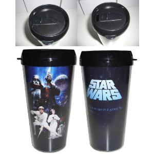 STAR WARS / スターウォーズ - Star Wars 16oz Plastic Travel Mug タンブラー|kaltz|02
