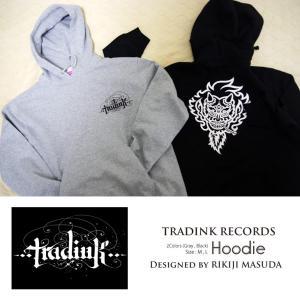 TRADINK RECORDS / トラッドインク・レコーズ - LOGO プルダウン・パーカー|kaltz