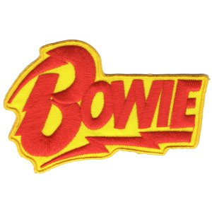 DAVID BOWIE / デヴィッドボウイ - LOGO PATCH /  ワッペン|kaltz
