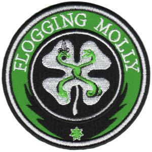 Flogging Molly / フロッギングモリー - SHAMROCK PATCH /  ワッペン|kaltz