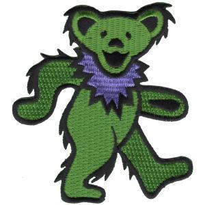 GRATEFUL DEAD / グレイトフルデッド -  GREEN BEAR 3.5 PATCH /  ワッペン|kaltz