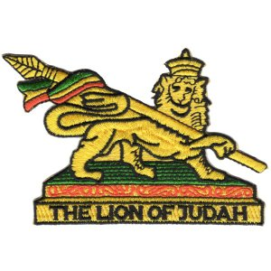 REGGAE&RASTA / レゲエ&ラスタ - DSX REGGAE & RASTA LION OF JUDAH PATCH /  ワッペン|kaltz