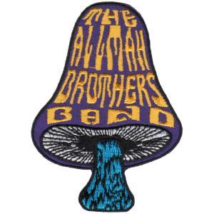 ALLMAN BROTHERS BAND / オールマンブラザーズバンド - MUSHROOM PATCH /  ワッペン|kaltz