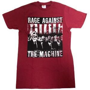 Rage Against the Machine / レイジ・アゲインスト・ザ・マシーン - SKULL MASK / Burgundy Tシャツ(Sサイズ)|kaltz
