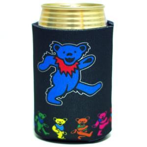 GRATEFUL DEAD / グレイトフルデッド - DEAD BEAR CAN COOLER / 缶クージー|kaltz