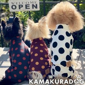 【犬の服】DOTつなぎ kamakuradog