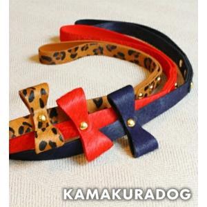 【鎌倉DOG】ハラコ素材リード|kamakuradog