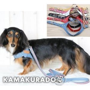 【犬 首輪】 ソフトハーネス・リード|kamakuradog