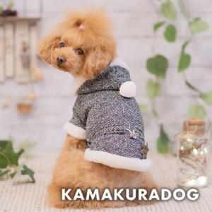 【犬の服】シェリフバッジ付きヘリンボーン(メール便不可)|kamakuradog