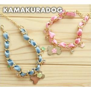【犬の首輪】【犬 首輪】【猫の首輪】チェーンネックレス kamakuradog