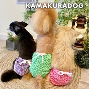 【犬の服】お花柄マナーパンツ|kamakuradog