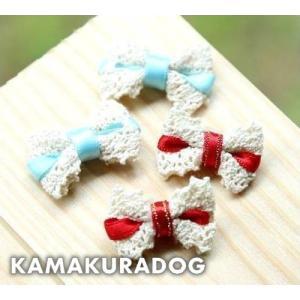 白レースリボン(ゴムタイプ) kamakuradog
