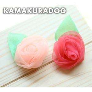 フラワーバレッタ(大・バレッタ・1個)|kamakuradog