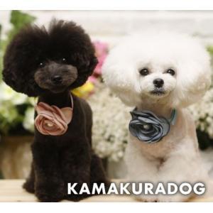 【鎌倉DOG】【犬猫 バンダナ】ROSEチョーカー|kamakuradog