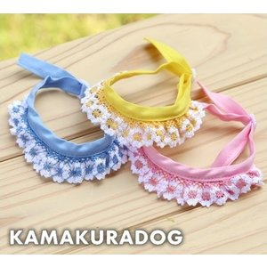 【鎌倉DOG】【犬猫 チョーカー】かぎあみスカーフ|kamakuradog