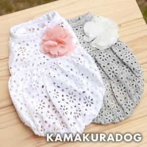 【犬の服】スカラップノースリーブ|kamakuradog