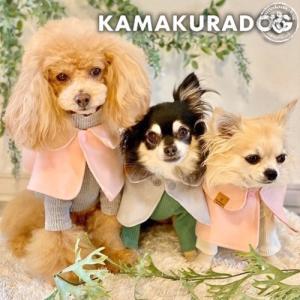 【犬の服】 おでかけケープ|kamakuradog