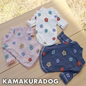 【犬の服】OHANAシャツ kamakuradog