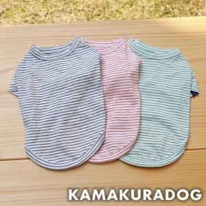【犬の服】ペンシルボーダーシャツ|kamakuradog