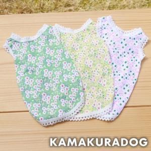 【犬の服】リボン&花柄フェアリー|kamakuradog