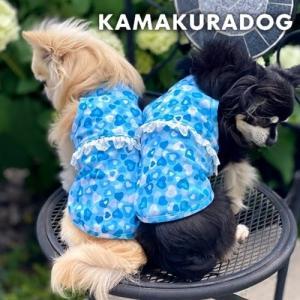 【犬の服】ブルーハートタンク|kamakuradog