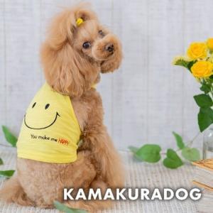 【犬の服】ニコちゃんキャミ|kamakuradog