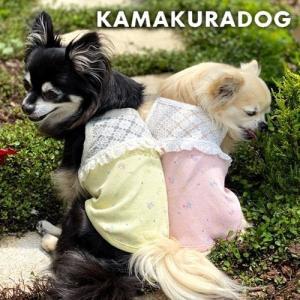 【犬の服】レース切り替えキャミ|kamakuradog