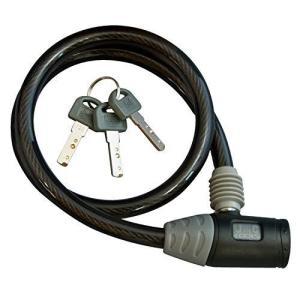 J&C(ジェイアンドシー) ワイヤーロック [JC-020W] φ10mm×600mm ブラック