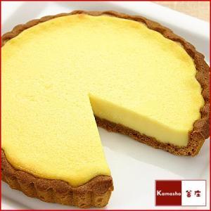 チーズケーキ フランスの田舎風チーズタルト|kamasho