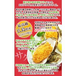 超特大牡蠣フライ カキフライ 冷凍 広島牡蠣フライ 広島県産 ジューシー牡蠣フライ 広島牡蠣 冷凍牡蠣フライ 冷凍食品 海鮮フライ 10個|kamasho|03