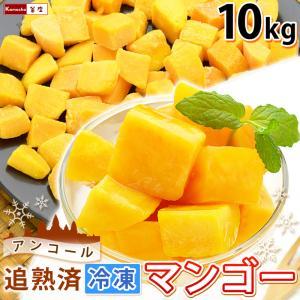 マンゴー 冷凍マンゴー 業務用 カット済み 完熟マンゴー 冷凍フルーツ 500gを20袋 計10kg 大量 まとめ買い|kamasho
