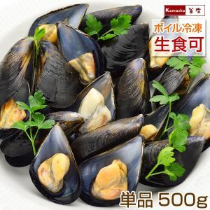 ムール貝 広島県産 国産 1パック 500g(15〜25粒) 単品販売|kamasho