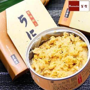 むらさきうにのうに缶詰1ケ(100g)|kamasho