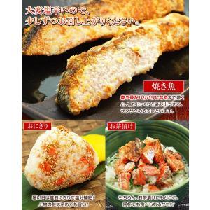 激辛 鮭 サケ 紅鮭 べにさけ 切り身 10パックセット 大辛 しょっぱい 塩引き鮭 冷凍|kamasho|06