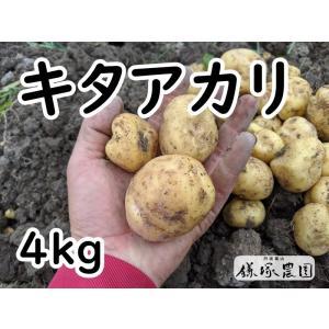 【農家直送】【鎌塚農園】丹波篠山産 キタアカリ4キロ kamatsukafarm