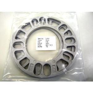 商品内容  材質:高強度アルミ合金 5mm 2枚セット    適 合  4穴5穴共用   PCD 範...