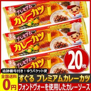 すぐる プレミアム カレーカツ 20枚 ゆうパケット便 メール便 送料無料|kamejiro