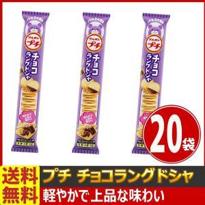【送料無料】ブルボン プチチョコラングドシャ 1袋(47g)×20袋|kamejiro