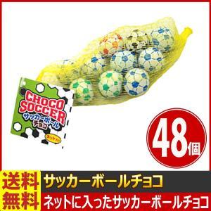 送料無料 やおきん サッカーボールチョコ ネット入り 58g(約10個入)×48個|kamejiro