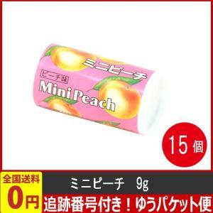 オリオン ミニピーチ 9g×15個  (お菓子 駄菓子) ゆうパケット便 メール便 送料無料|kamejiro