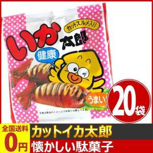菓道 カットイカ太郎 1袋(16g)×20袋 ゆうパケット便 メール便 送料無料|kamejiro