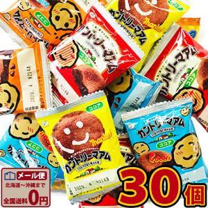 不二家 カントリーマーム ココア 40枚 業務用 訳あり ゆうパケット便 メール便 送料無料【 お菓子 駄菓子チョコレート 】|kamejiro
