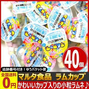 マルタ食品 ラムカップ 5g×40個 ゆうパケット便 メール便 送料無料|kamejiro