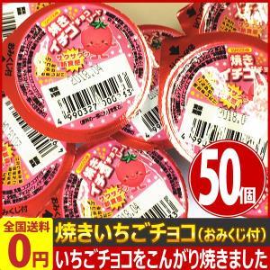 丹生堂 焼きいちごチョコ(おみくじ付) 50個 業務用 訳あり ゆうパケット便 メール便 送料無料|kamejiro