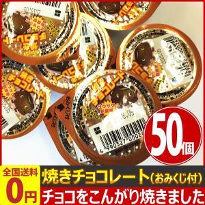丹生堂 焼きチョコレート(おみくじ付) 50個 業務用 訳あり ゆうパケット便 メール便 送料無料|kamejiro