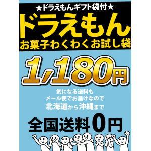 ドラえもんギフト袋付★ドラえもんお菓子わくわくお試し袋 ゆうパケット便 メール便 送料無料|kamejiro|07